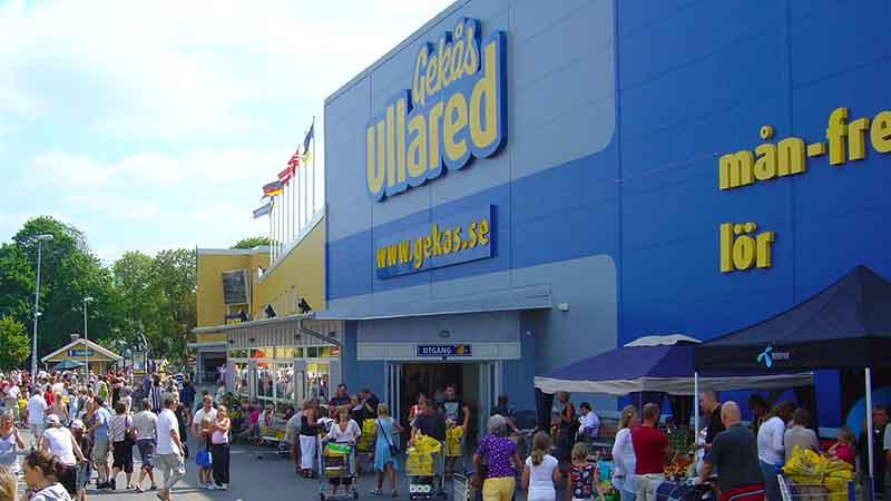 svensk kæmpe indkøbscenter